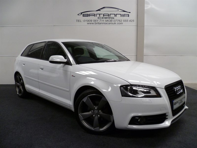 used Audi A3 SPORTBACK TDI S LINE SPECIAL EDITION BLACK EDITION in sheffield-for-sale