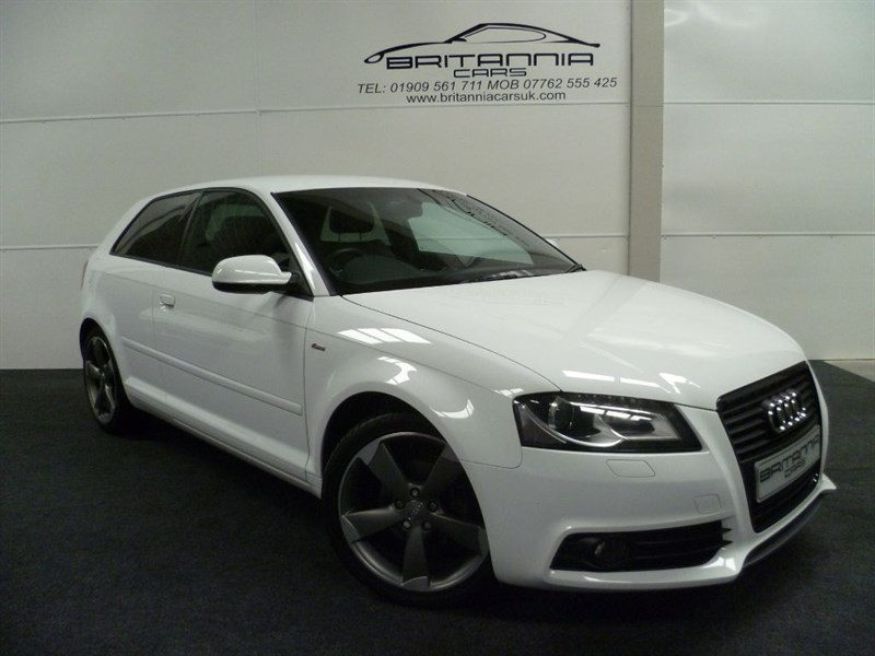 used Audi A3 TDI S LINE SPECIAL EDITION in sheffield-for-sale