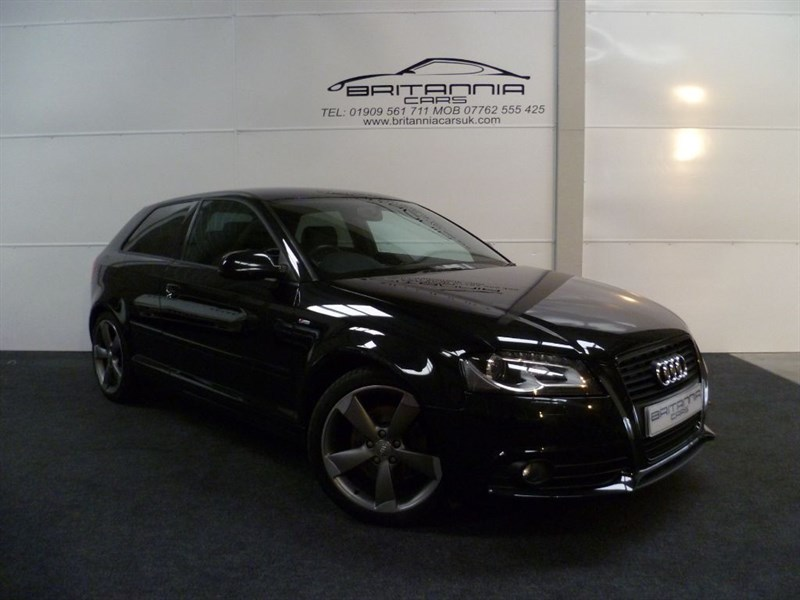 used Audi A3 TDI S LINE 170 BHP BLACK EDITION SPECIAL EDITION in sheffield-for-sale