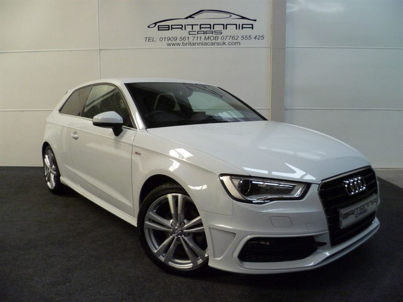 used Audi A3 TDI S LINE NEW MODEL in sheffield-for-sale