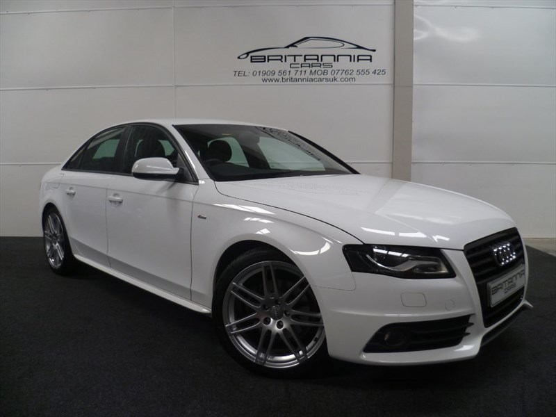 used Audi A4 TDI S LINE SPECIAL EDITION WITH B&O STEREO & FULL LEATHER in sheffield-for-sale