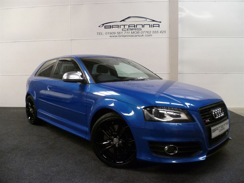 used Audi S3 S3 TFSI QUATTRO GREAT SPEC & BEST COLOUR COMBINATION in sheffield-for-sale