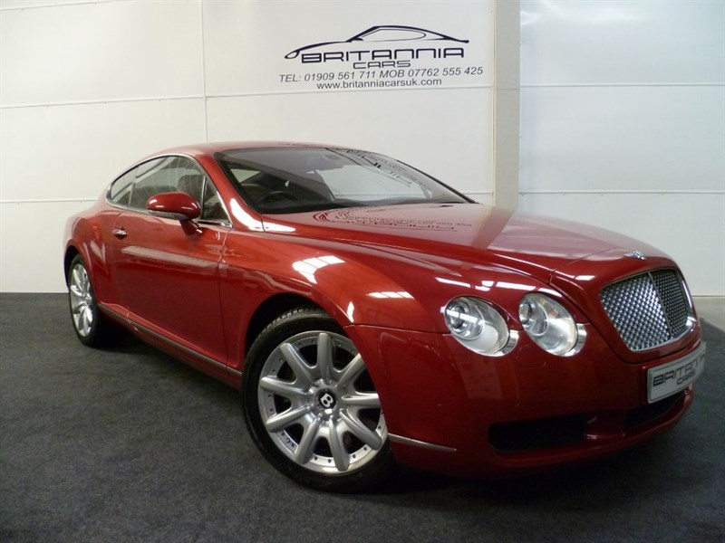 used Bentley Continental GT GREAT COLOUR COMBINATION in sheffield-for-sale
