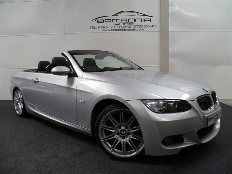used BMW 325d M SPORT FULLY LOADED WITH SAT NAV in sheffield-for-sale