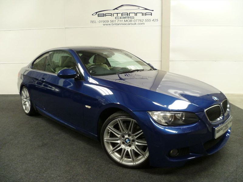 used BMW 330i M SPORT BEST COLOUR COMBO WITH SAT NAV in sheffield-for-sale