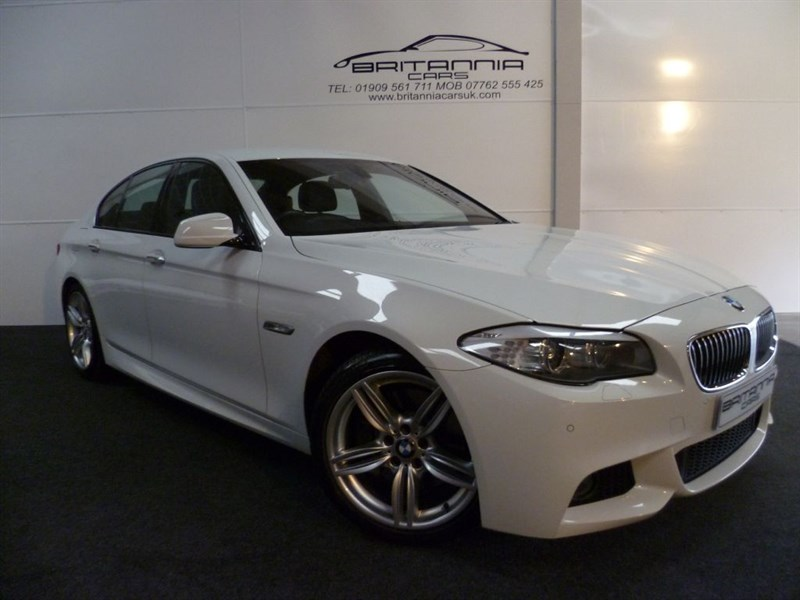 used BMW 525d M SPORT HUGE SPEC CAR in sheffield-for-sale