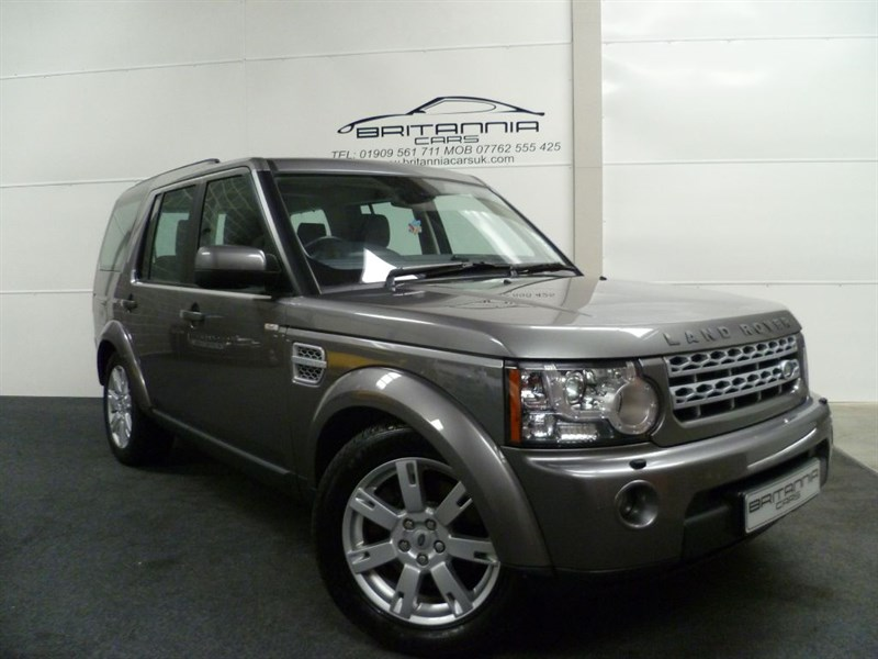 used Land Rover Discovery 4 SDV6 GS WITH FULL LEATHER & HEATED SEATS in sheffield-for-sale