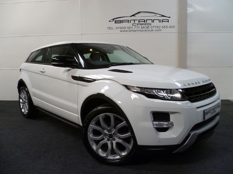 used Land Rover Range Rover Evoque SD4 DYNAMIC HUGE SPEC IN THE BEST COLOUR!!! in sheffield-for-sale
