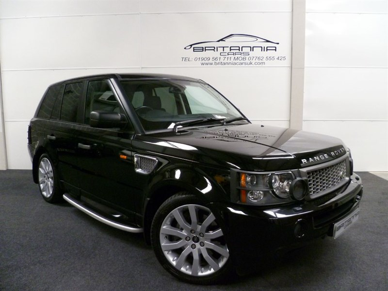 used Land Rover Range Rover Sport RANGE ROVER SPORT TDV8 SPORT HSE in sheffield-for-sale