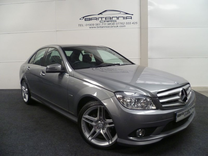 used Mercedes C220 CDI BLUEEFFICIENCY SPORT WITH FULL LEATHER in sheffield-for-sale