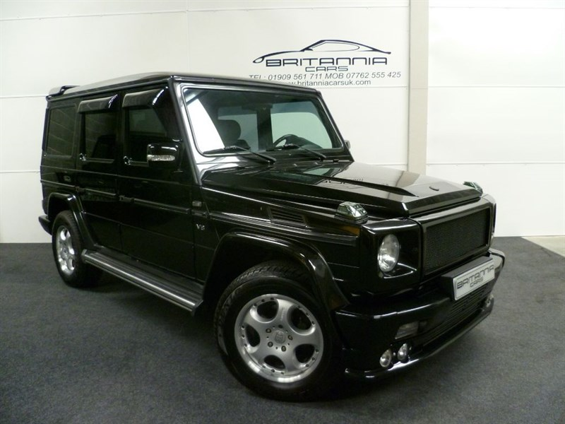 used Mercedes  G WAGON G-WAGEN G500 BRABUS LIMITED EDITION ENGINE UPGRADE in sheffield-for-sale