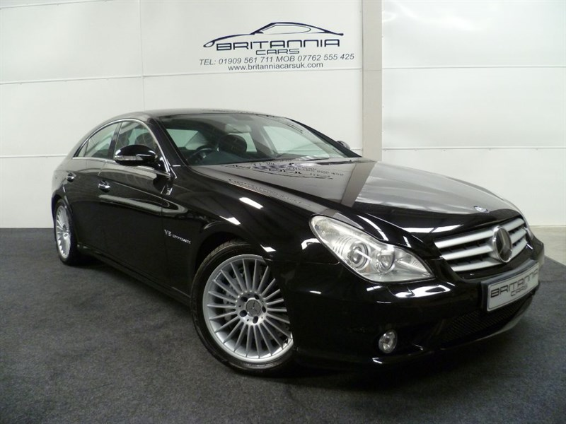 used Mercedes CLS55 AMG CLS CLS555 AMG IWC WITH POWER UPGRADE in sheffield-for-sale