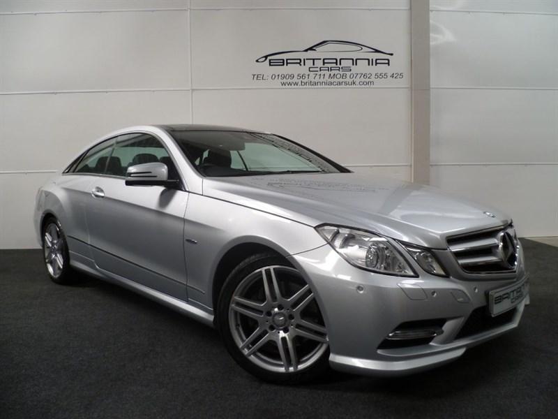 used Mercedes E220 CDI BLUEEFFICIENCY SPORT ED125 in sheffield-for-sale