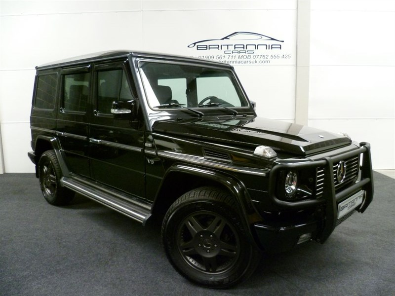 used Mercedes G55 AMG G WAGON G-WAGEN G 55 AMG/G500 GRAND EDITION SPECIAL EDITION in sheffield-for-sale