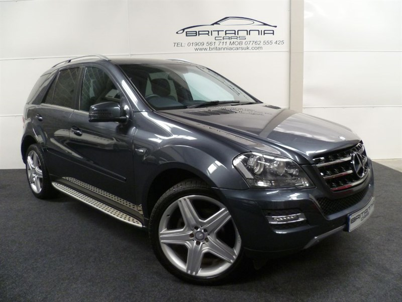 used Mercedes ML350 CDI BLUEEFFICIENCY GRAND EDITION WITH AMG ALLOYS in sheffield-for-sale