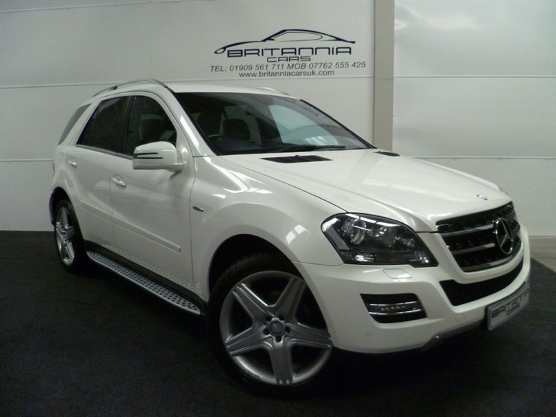 used Mercedes ML350 CDI BLUEEFFICIENCY GRAND EDITION in sheffield-for-sale