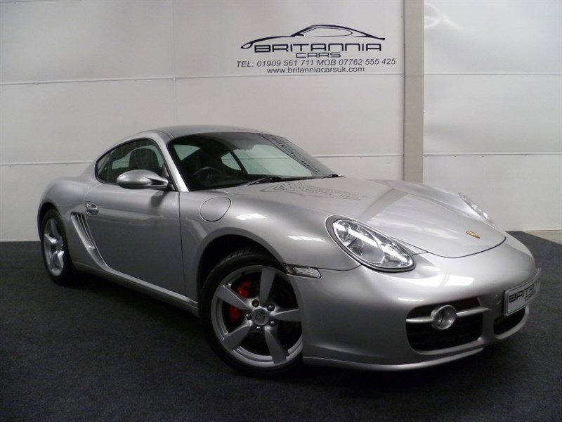 used Porsche Cayman 24V S JUST HAD A MAJOR SERVICE in sheffield-for-sale