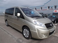 Used Fiat Scudo PANORAMA FAMILY LWB MULTIJET 120 WHHEL CHAIR ACCESS RAMP
