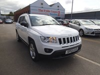 Used Jeep Compass LIMITED FULL DEALER HISTORY + BLACK LEATHER
