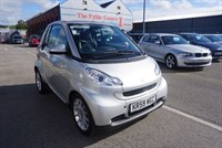 Used Smart Car Fortwo Cabrio PASSION MHD FULL BLACK LEATHER + FULL MB HISTORY