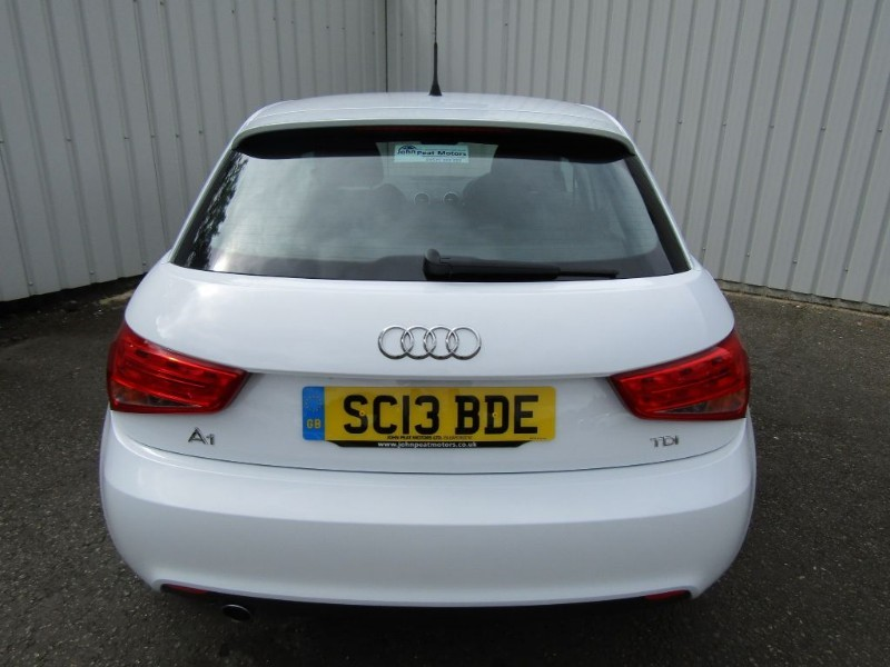 audi a1 1 6 tdi sport 5dr diesel white for sale sleaford lincolnshire john peat motors. Black Bedroom Furniture Sets. Home Design Ideas