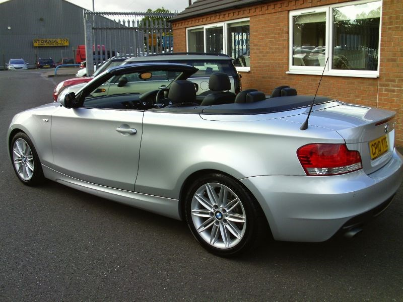 used bmw 1 series 118d 2 0 diesel convertible sleaford. Black Bedroom Furniture Sets. Home Design Ideas