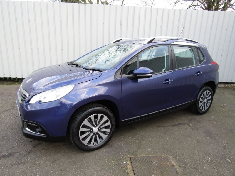 peugeot 2008 1 6 e hdi active diesel auto 5dr blue for sale sleaford lincolnshire john peat. Black Bedroom Furniture Sets. Home Design Ideas
