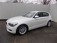 BMW 116d 20D SE 5dr 1 private owner Balance of 3 year warranty