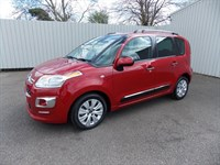 Citroen C3 Picasso 16 DIESEL EXCLUSIVE HDI one private owner full citroen  history
