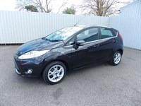 Ford Fiesta 14TDCI ZETEC 5DR DIESEL 1 private owner Full Ford History