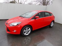 Ford Focus 16TDCI ZETEC 5DR 1 private owner Full Ford History