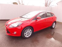 Ford Focus 16TDCI TITANIUM 5DR DIESEL 1 private owner Full Ford History