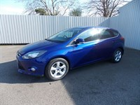Ford Focus 16TDCI ZETEC NAVIGATOR 5DR DIESEL 1 private owner Full Ford History