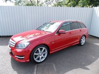 Mercedes-Benz C180 18 BEff Sport Estate Automatic 5DR HG11 FZK Full service history