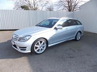 Mercedes-Benz C220 21CDI AMG SPORT ESTATE DIESEL AUTO 1 private owner Full Merc History
