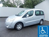 Peugeot Partner Tepee 16TD Outdoor Wheelchair Adapted 201212 1 Private Owner Full History