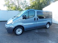 Renault Trafic 20 SL27 DCI 115 Wheelchair adapted