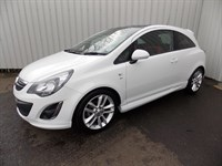 Vauxhall Corsa 14 SRI PAN ROOF 3DR 2 private owners Full History