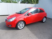 Vauxhall Corsa 12 SXI AC 3dr Full service history