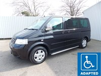 Volkswagen Caravelle 25TDI EXECUTIVE WHEELCHAIR ADAPTED DIESEL AUTO