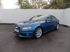 used Audi A4 2.0 TDI S Line Diesel 4dr in sleaford-lincolnshire