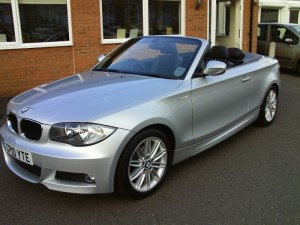 used BMW 118d 2.0 Diesel Convertible in sleaford-lincolnshire