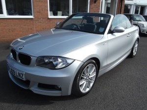 used BMW 118i 1.8 M Sport Convertible in sleaford-lincolnshire