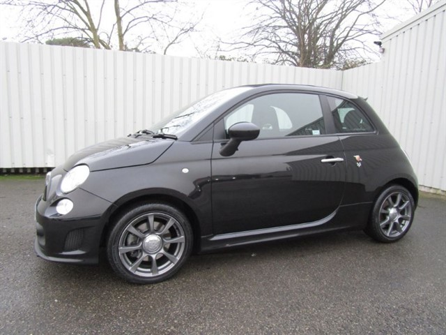 used Abarth 500C 1.4 T-Jet 595 3dr Convertible