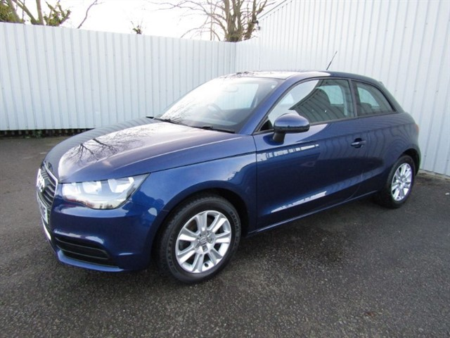 used Audi A1 1.6TDi SE 3dr Diesel Blue