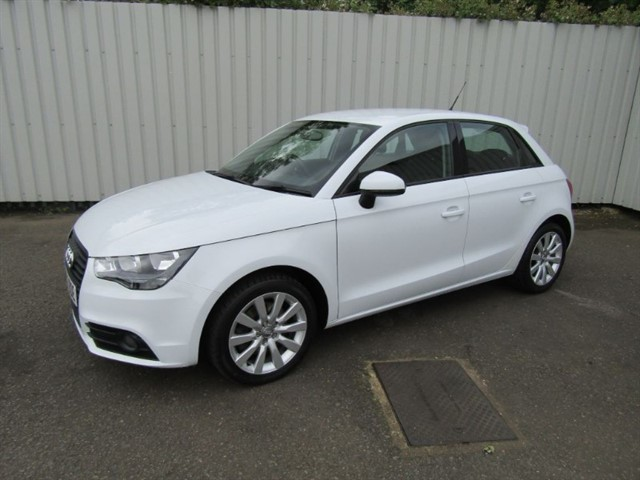 used Audi A1 1.6 TDI Sport 5dr Diesel White