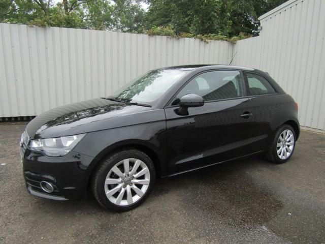 used Audi A1 1.2 TFSI SE 3dr Hatchback Black