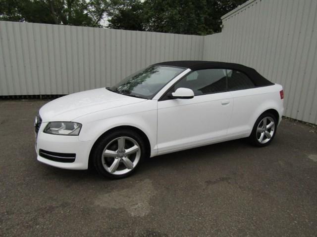 used Audi A3 1.6 TDI Technik Convertible Diesel 1 private owner