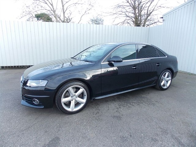 Click here for more details about this Audi A4 20TDI S-Line 170bhp 4dr Diesel 1 private owner Full Audi History