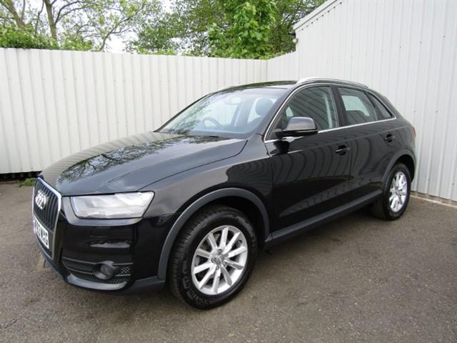 used Audi Q3 2.0 TDI Quattro SE 177bhp 5dr Diesel Auto Black